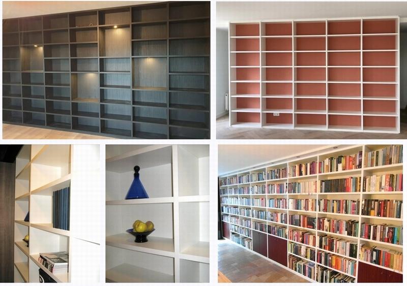 Dikke Planken Boekenkast.Boekenkasten Op Maat Rechtstreeks Uit Eigen Meubelmakerij