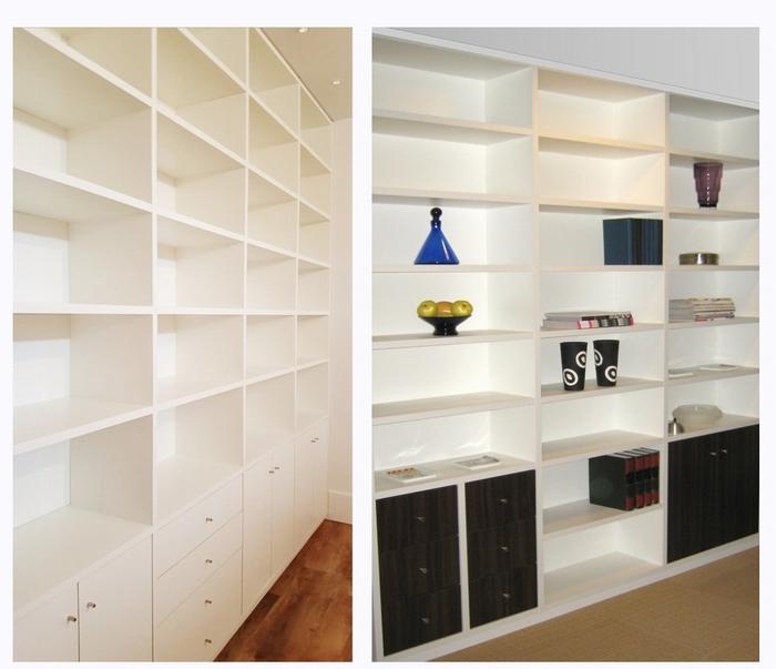 Boekenkasten op maat - rechtstreeks uit eigen meubelmakerij.